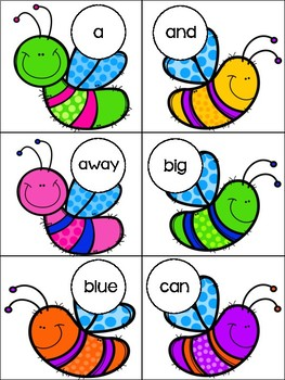 Swat The Sight Word Bugs
