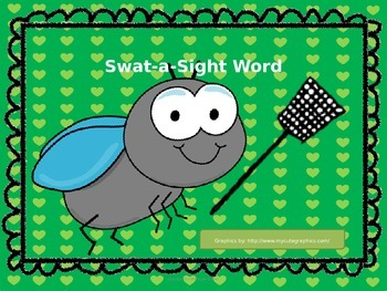 Swat a Sight Word