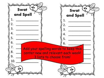 Swat and Spell Game