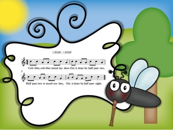 Swat that Fly! A Music Reading Game for the Recorder: B-A-G-C' patterns