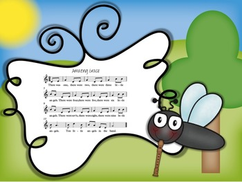 Swat that Fly! A Music Reading Game for the Recorder: D-E-GAB-C'-D' patterns