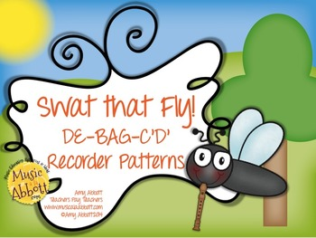 Swat that Fly! A Music Reading Game for the Recorder: D-E-