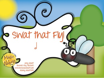 Swat that Fly! A Rhythm Game for Practicing half note