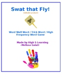 Swat that Fly (trick word / sight word game)