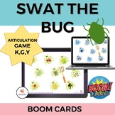 Swat the Bug Articulation BOOM cards- /k/ and /g/ in all p