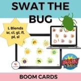 Swat the Bug Articulation BOOM cards: /l/ blends (bl, cl,