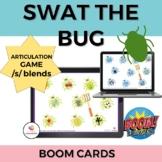 Swat the Bug Articulation BOOM cards- /s/ blends (sk, sn,