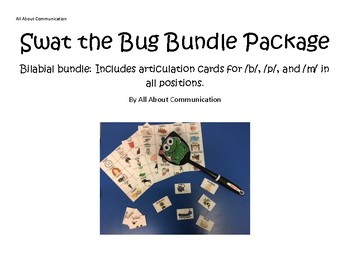 Swat the Bug Articulation Game: Bilabial Bundle