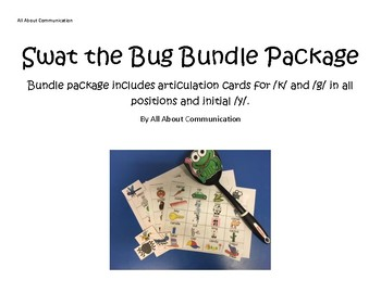 Swat the Bug Articulation Game: /k/, /g/ and /y/ bundle