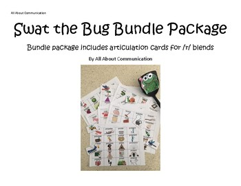 Swat the Bug Articulation Game: /r/ blend bundle
