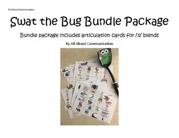 Swat the Bug Articulation Game: /s/ blends bundle