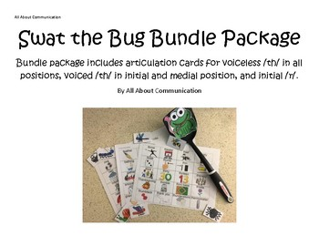 Swat the Bug Articulation Game: /th/ and /r/ bundle