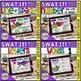 Swat the Bug Boom Cards -  Bass Clef Bundle (Digital Task Cards)