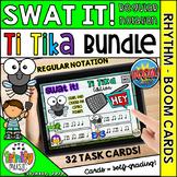 Swat the Bug Boom Cards - Ti Tika Notes Bundle (Distance L
