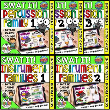 Swat the Bug - Instrument Bundle (Boom Digital Task Cards)
