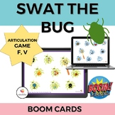 Swat the Bug Articulation BOOM cards- /f/ and /v/