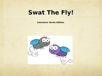 Swat the Fly: Lit Terms Edition