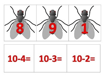 Swat the Fly Subtraction