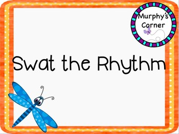 Swat the Rhythm Dotted Half Notes