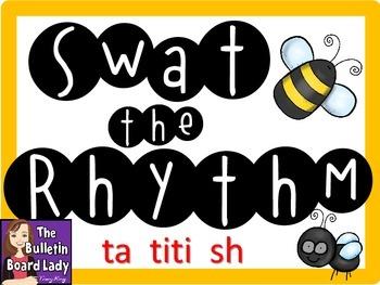 Swat the Rhythm (ta titi sh) Flyswatter Activity for Music Class
