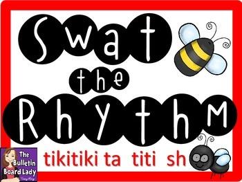 Swat the Rhythm (tikitiki, ta, titi, sh) Flyswatter Activi