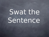 """Swat the Sentence"" Grammar Game PowerPoint"
