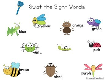 Swat the Sight Words