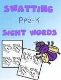 Swatting Sight Words {Dolch - Pre-K}