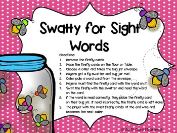 Swatty for Sight Words