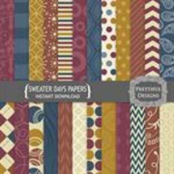 Sweater Days Paper Pack