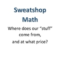 Sweatshop Math Project - Solving Algebraic Equations