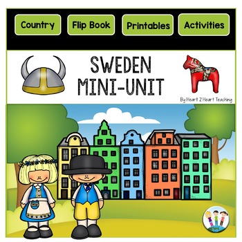 Sweden Country Study: A Mini-Unit With Sweden Flip Book