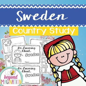 Sweden Country Study | 48 Pages for Differentiated Learning + Bonus Pages