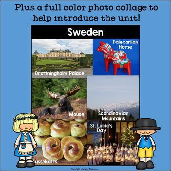 Sweden Mini Book for Early Readers - A Country Study