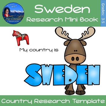 Sweden - Research Mini Book