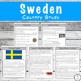 Sweden Unit Study