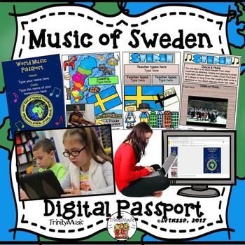 Sweden World Music Digital Passport