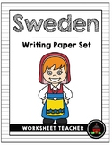 Sweden Writing Paper Set