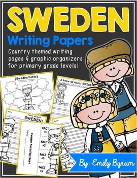 Sweden Writing Papers (A Country Study!)