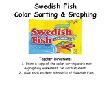 Swedish Fish Color Sorting & Graphing