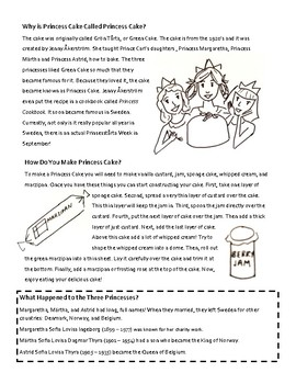 Nonfiction Reading and Questions -- Types of Informational Text