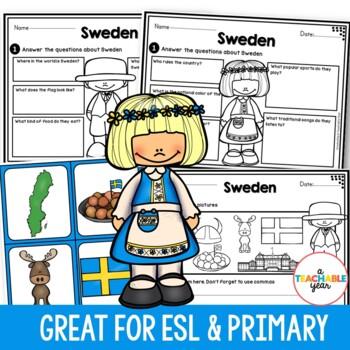 Sweeden - Vocabulary Pack