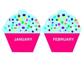 Sweeet! Cupcake Birthday Display / Chart
