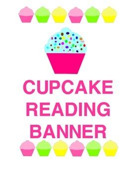 Sweeet! Cupcake Reading Banner