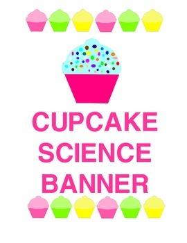 Sweeet! Cupcake Science Banner