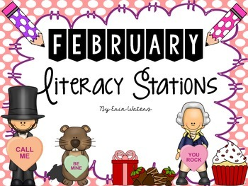{Sweet 16} February Literacy Stations