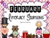 {Sweet 16} February Literacy Stations
