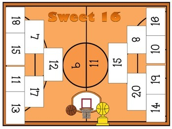 Sweet 16 Numbers 0-20: Includes 3 Different Games