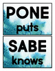 Spanish Word Wall Posters High Frequency Bulletin Board Set