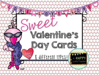 Sweet 8 Valentine's Day Cards